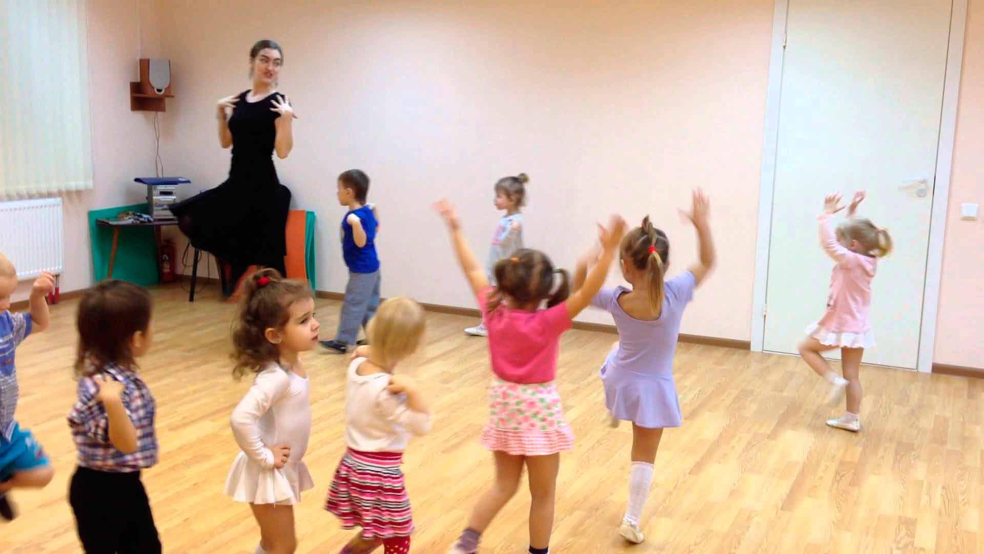 Танцевальный конкурс для детей под разную музыку